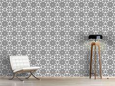 Design #Tapete Monochrome Gotik