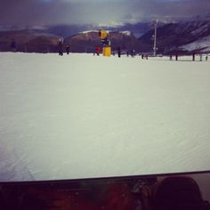 Face-planting down the beginners slopes #nz #queenstown #coronetpeak
