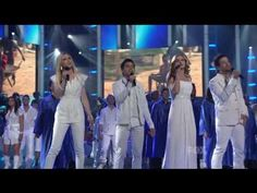 """The Lord is worthy to be praised! Listen as the final eight American idol contestants and gospel choir sing the powerful worship anthem """"Shout to Lord"""" on live television. Kinds Of Music, Music Love, Art Music, Christian Videos, Christian Music, Best Songs, Awesome Songs, Grace Music, Positive Songs"""