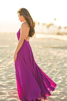 Emma Purple Flowy Maxi Dress – Morning Lavender