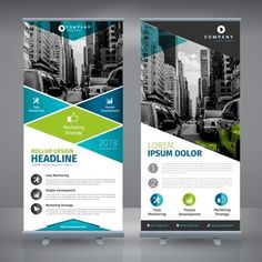 Retractable Banner Design Template Inspirational Roll Up Vectors S and Psd Files Web Banner Design, Web Design, Flyer Design, Banner Sample, Banner Template, Brochure Design, Branding Design, Rollup Design, Standing Banner Design
