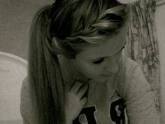 Cheer hair? With the bow?