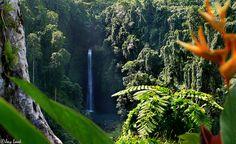 Sopoaga Waterfall On the island of Upolu, Samoa Photo by Jay Look