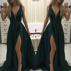 Rochie Verde Lunga Tafta AngeAtelier.ro Tafta Dress, Prom Dresses, Formal Dresses, How To Wear, Fashion, Vestidos, Green, Dresses For Formal, Moda