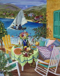caribbean paintings by karla Bove