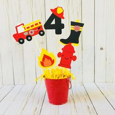Fire truck birthday party ideas pictures 36 new Ideas Firefighter Birthday Cakes, Fireman Birthday, Fireman Party, Fireman Sam, Birthday Party Centerpieces, 4th Birthday Parties, 3rd Birthday, Fire Truck Birthday Party, Lego