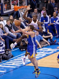 Get that garbage outta here! This is Ibaka territory!! #ThunderUp