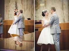 How to make a courthouse wedding special