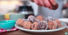 In this video, I show you how to make these decadent, yet good-for-you no-bake chocolate truffles with my KitchenAid Food Processor. Kitchenaid Food Processor, Food Processor Recipes, Dairy Free Truffles, First Bite, Chocolate Truffles, Healthy Living Tips, No Bake Desserts, Whole Food Recipes, Baking