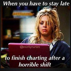 Charting after a horrible shift Nurse Jokes, Funny Nurse Quotes, Nursing Memes, Funny Nursing, Nursing Quotes, Funny Memes, Nursing Schools, Nurse Sayings, Psych Memes