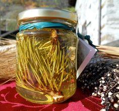 Miele di acacia con gemme di pino dell'alta Brianza e della Valtellina