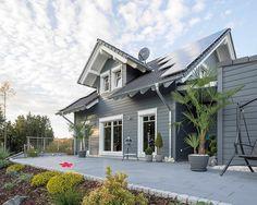 Objekt: Wohnhaus | Holzfassade von Cape Cod | Produkt: Channelprofil ...
