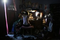 This piece by greg crewdson feels so sad to me. If only girls were conditioned to love themselves more...