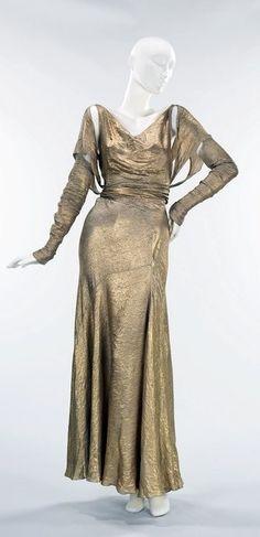 Jesse Franklin Turner Dress - c. 1933 - @~ Mlle