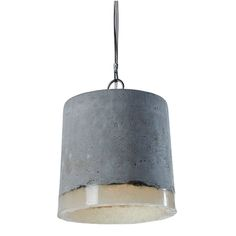Elle Deco discount Concrete Pendant Light by Renate Vos combines cast concrete with soft silicone for an industrial looking lamp that emits a warm and welcoming glow. Pendant Lighting, Lamp, Light, Concrete Pendant Light, Ceiling Lamp, Pendant Light, Concrete Pendant, Glass Pendant Lighting Kitchen, Concrete Lamp