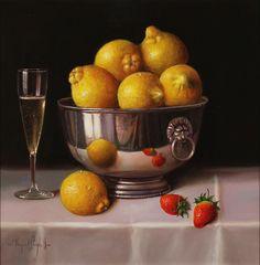 Raymond Campbell. Bowl of Lemons