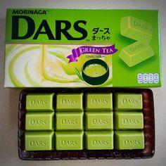 DARS matcha chocolate ダース まっちゃ チョコレート