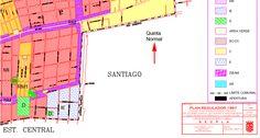 Quinta Normal no está en la comuna de Quinta Normal, sino en la de Santiago