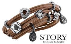 Triple-wrapped brown leather bracelet http://media-cache5.pinterest.com/upload/9992430393085868_gwNwUjPt_f.jpg alishakcarse jewelry