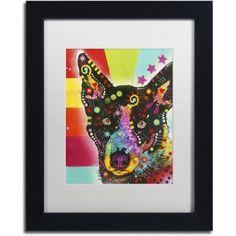 Trademark Fine Art Now? Canvas Art by Dean Russo, White Matte, Black Frame, Size: 16 x 20