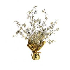 Gold and Silver Stars Foil Spray Centrepiece Star Centerpieces, Balloon Weights, New Years Eve Party, Silver Stars, Balloons, Gold Silber, Buffet Tables, Year 2016, Ebay