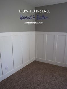 Craftsman Style Board and Batten