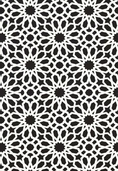 Agadir Screen Wallpaper 5006640 Schumacher Wallcoverings Blues Whites Contemporary Wallpaper Designer Wallpaper Geometric Wallpaper, Easy to clean , Easy to wash, Easy to strip Tile Patterns, Pattern Art, Textures Patterns, Pattern Design, Islamic Art Pattern, Arabic Pattern, Wallpaper Warehouse, Contemporary Wallpaper, Geometric Wallpaper