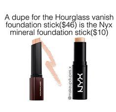 Hourglass Vanish Foundation Stick • NYX Mineral Foundation Stick