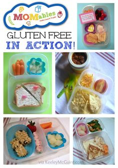 Lunch Made Easy: @Laura Jayson Fuentes/ MOMables.com Gluten Free School Lunches