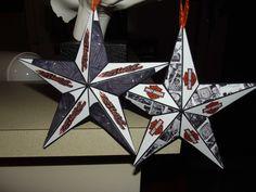 Harley Davidson Star Ornament. $15.00, via Etsy.