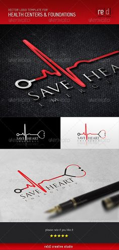 Health Centers and Foundations  - Logo Design Template Vector #logotype Download it here: http://graphicriver.net/item/health-centers-and-foundations-logo-template/5360596?s_rank=400?ref=nexion