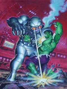 Earl Norem Hulk Magazine #15 Cover