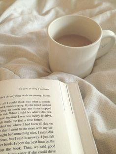 Un buen libro y café