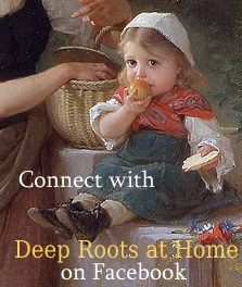 And if you are blessed by something you have read here at Deep Roots, consider liking my page on Facebook and subscribing via Feedburner. Thank You so much