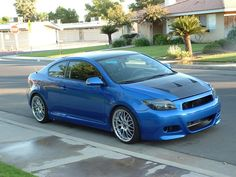Scion tC Toyota Scion Tc, Toyota 4, 2007 Scion Tc, Exotic Cars, Cool Toys, Jdm, Hand Guns, Blueberry, Motorcycles