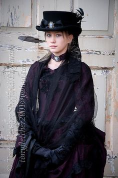 'KELSEY' Whitby Goth Weekend Oct 29th 2011 by tonyfletcher, via Flickr