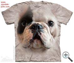 FRANCIA BULLDOG KÖLYÖK kutya felnőtt The Mountain póló.