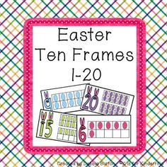 Easter+Ten+Frames+Freebie!+from+K+is+for+Kinderrific+on+TeachersNotebook.com+-++(7+pages)++-+Free+Easter+Ten+Frames!!!
