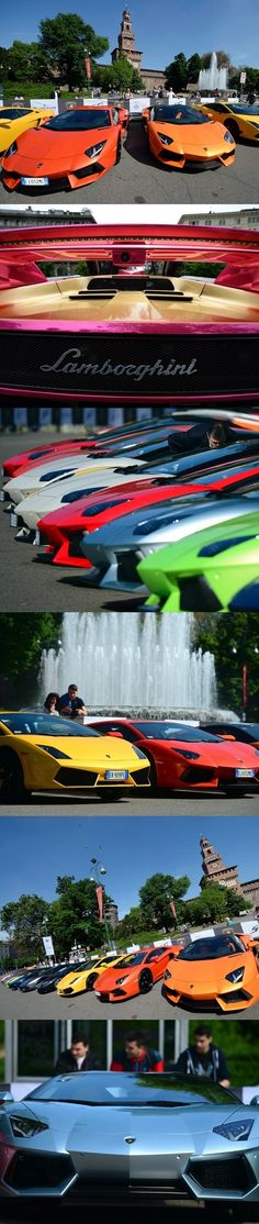 Lamborghini 50th Anniversary With Do Touring Italy With 350 Supercar