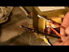 Lichtenberg wood burner from a microwave transformer - YouTube Microwave Transformer, Wood Burning Tool, Garage Tools, Wood Burner, Wood Ideas, Woodburning, Wood Working, Woodwork, Transformers