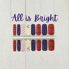 Christmas Nails / Nail Stickers/ Holiday Nails / Nail Polish Strips Holiday Nails, Christmas Nails, Gold Christmas Tree, Simple Christmas, Christmas Nail Stickers, Cuticle Oil, Nail Polish Strips, Us Nails, Nail Wraps