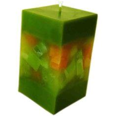 Kerzen Vierkant Würfelfenster - Nordkerze