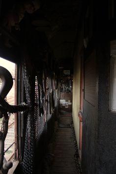 """Interior tren, Museo """"el tren más lento del mundo"""" Valparaiso Chile. by kor"""