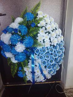 Hanukkah, Wreaths, Crafts, Decor, Crown Flower, Flower Arrangements, Funeral Flower Arrangements, Church Flower Arrangements, Modern Floral Arrangements