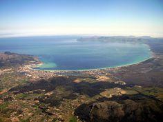 Alcudia Bay and Albufera Natural Park,Mallorca