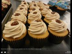 Carmel cupcakes for Julianne ;)