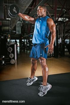 Build Muscle Strength and a Better Body With This Dumbbell Workout - Men's Fitness - Page 9