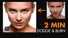 Photoshop cc Tutorial: Smart Dodge and Burn Using  in Photoshop | 2 Min ...