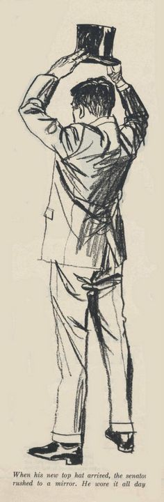 Austin Briggs gestures pass as kick ass complete drawings.