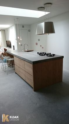 Ikea Kitchens with wooden doors from Koak Design